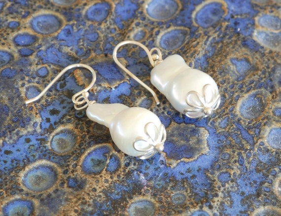 Cultured Pearl Earring Set