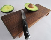 Eco Hardwoods Reclaimed BLACK WALNUT  serving board/cutting board