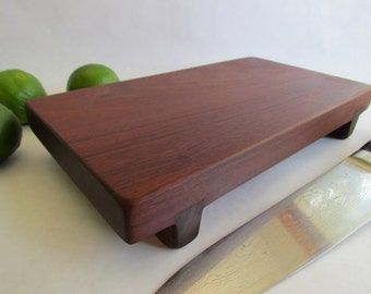 RECLAIMED Hard as a Rock IPE Raised serving/cutting board eco hardwoods