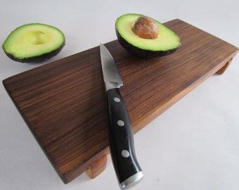 Eco Hardwoods Reclaimed BLACK WALNUT  serving board/cutting board
