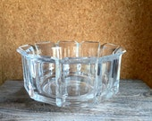 1970s Lucite Salad or Fruit Bowl - Grainware Acrylic Crystal - William Bounds Design - 70s/80s Mod - Palm Springs Modern