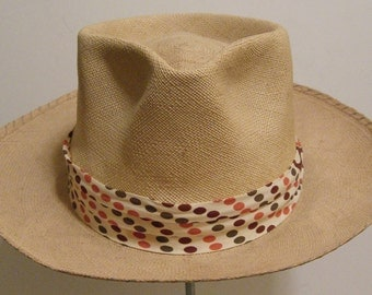 7 - Vintage George Eakle Philadelphia Men's Summer Panama Hat