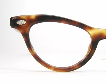 Vintage Tortoise Cat eye Eyeglasses Sunglasses