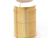 Tarnish Resistant Wire Gold Color 16ga 8yd Spool