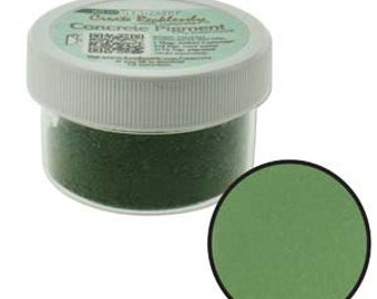 Green Pigment For Create Recklessly Artist's Concrete 1oz Jar