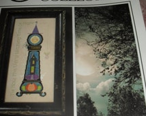 Cross Stitch Chart / Pattern - Witching Time - Cricket Collection - Vicki Hastings