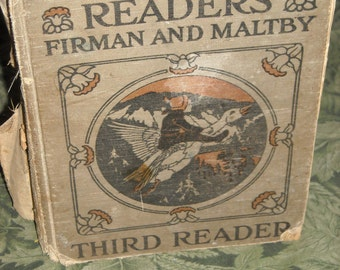 1926 hardcover: Winston Reader - Third Reader