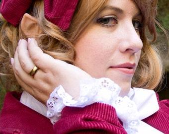 Elf ears: Halfling or Elf -- handmade, latex ear tips, great for cosplay, costumes, Lord of the Rings, Hobbit