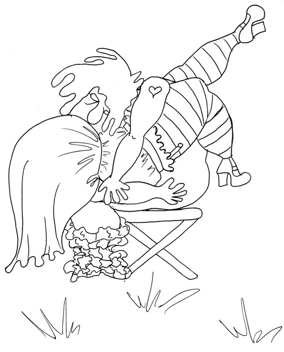 hot ladies coloring pages - photo#8