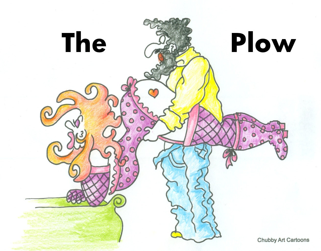 the plow funny coloring pages for adults from the