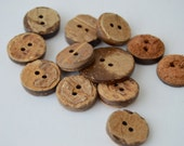 Check shop announcement for huge sale! Coconut Buttons x 12 - Various shades & sizes, etc.
