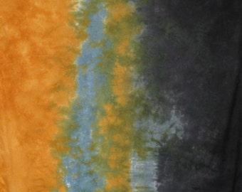 Hand Dyed Gradient Fabric - Nightfall
