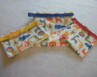 Eco Friendly Sandwich and Snack Bags - Jungle Friends