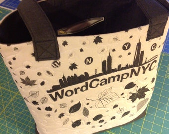 WordCamp NYC tote bag