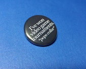 Video Game Tournaments Pinback Button (or Magnet)