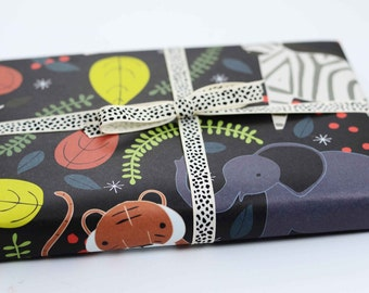 Gift Wrap, Gift Wrap Sheets, Zoo, Celebrations, Baby Animals, Zoo Gift Wrap, Wrapping Paper, Zoo Dreams Gift Wrap, Baby Gift Wrap, Tigers