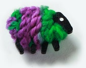 Sheep Brooch - Buddliea