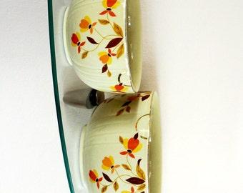 Vintage Bowls Hall China Leaf Jewel Tea Autumn Leaf Radiance Set of Two 1950s