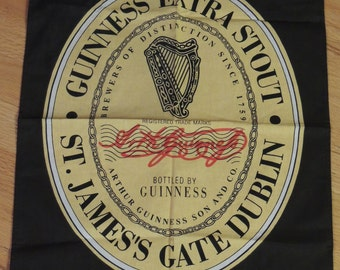GUINNESS Extra Stout Towel or Wall Hanging