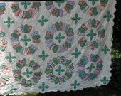 Antique Quilt for Double Bed - 1930's -  hardly ever used!