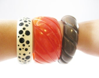 Vintage Bangle Bracelet Collection