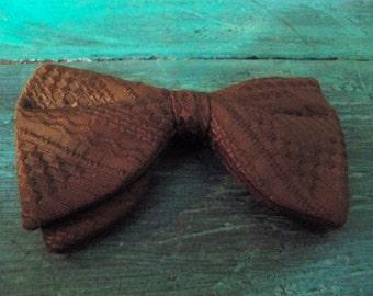 rich brown  ormond bow tie  rustresist