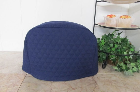 Navy Blue 2 Slice Kitchen Small Appliance Toaster Cover Ready To Ship