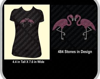 Flamingo Rhinestone Shirt