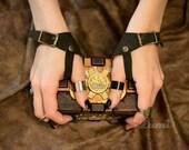 Marauder's Gloves in Dark Cocoa Suede