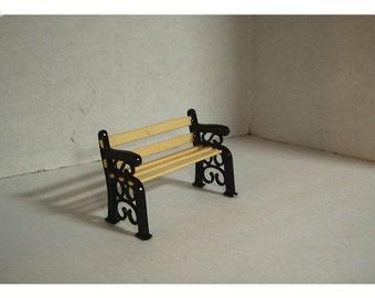 Miniature Garden/Park Bench/ Minis/Craft Supplies*
