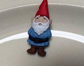 Gnome theme lapel pin collectible