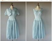 25% OFF SALE... Vintage 1950s Party Dress | 50s Dress | 1950s Cocktail Dress | 40s Dress | Vintage 50s Dress
