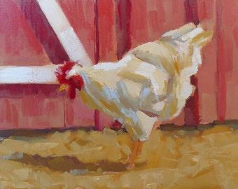 Barnyard Hen