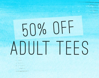 SALE - Adult Tee: Love Arrows, Drop The Beat and Eat Local