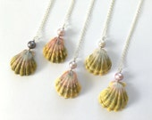 Sunrise Shell Necklace, Sunrise Shell Jewelry, Sunrise Shell, Sterling Silver, Made In Hawaii, Hawaiian Jewelry, Simply Sparkle Designs