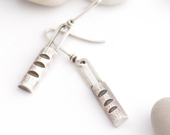 Perfectly Primitive Silver Travel Everywhere Earrings