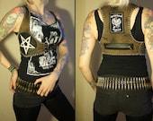 Kissin' Bombs pentagram motorhead vest