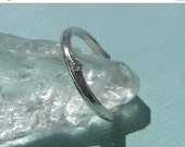 SPECIALS Heavier Recycled Sterling Twig Ring