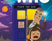 Doctor Who 16 Neil Slorance Variant Cover Signed.