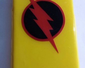 The Reverse Flash Comic inspired hard phone cover case (Android, Apple or Windows) Justice League iPhone, Samsung, LG, HTC, Motorola, Nokia