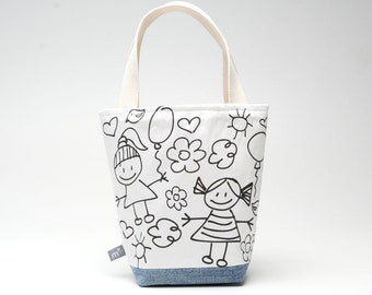 Color Me Mimi Tote, Playdate