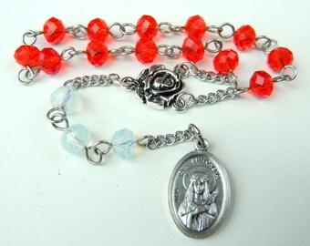 Saint Philomena Prayer Chaplet Rosary