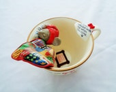 Vintage Enesco Home Sweet Home Treasury of Christmas Mouse Sleeping in Teacup 1st Ornament in M. Gilmore Designs Cozy Cup Series 1987