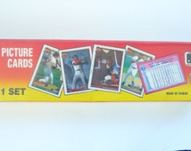 TOPPS - Micro Baseball Cards - 792 - Picture Cards - 1991 - Complete Set - Sealed - Nolan Ryan - Cal Ripkin - Carlton Fisk - MLB - Sports