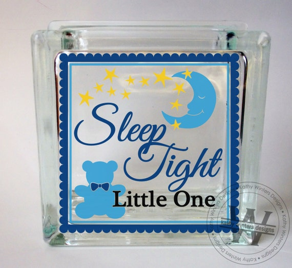 vinyl lettering glass block decal sleep tight by With where to buy vinyl letters for glass