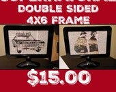 Supernatural 4x6 Double Sided Framed Print