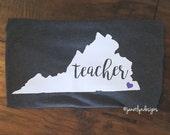 State teacher tee