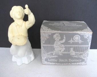 Avon Little Jack Horner Cologne Decanter - Roses, Roses Cologne