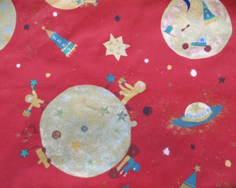"""Liberty of London """"Over the Moon"""" Home Decor Fabric, 2 Yards"""