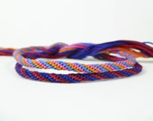 Custom Kumihimo Bracelet